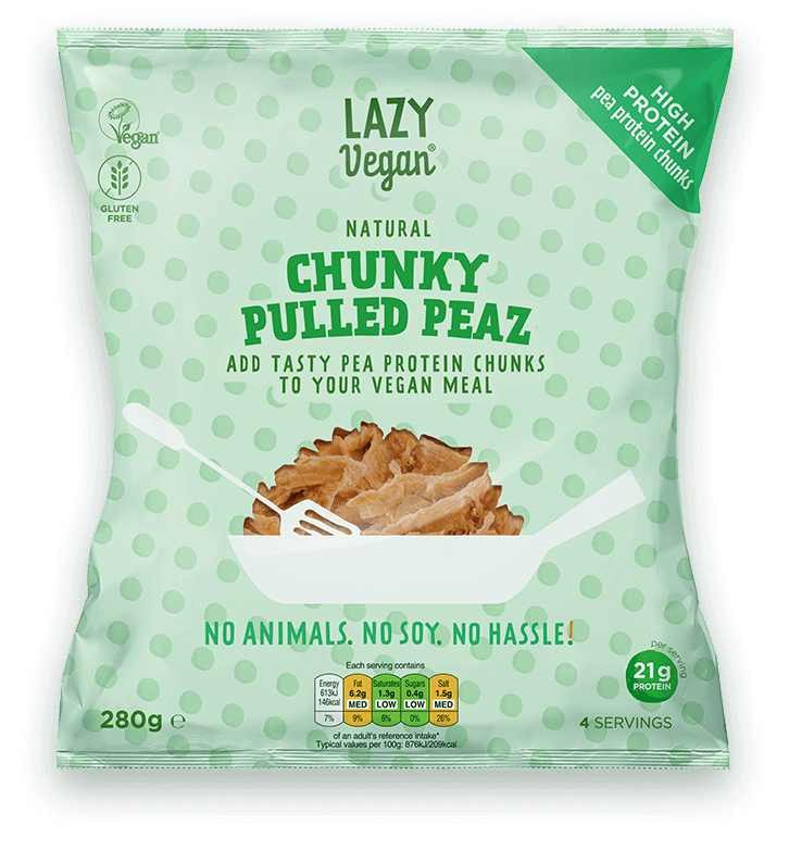 Product image Chunky Pulled Peaz Natural