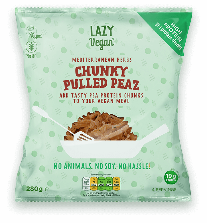 Product image Chunky Pulled Peaz Med. Herbs